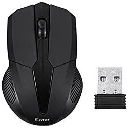 Enter E-W55 Wireless Optical Mouse (Black)