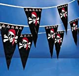 pirate pennant - 100 feet long! great pirate party decoration!