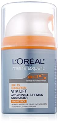Best Cheap Deal for L'Oreal Paris Men's Expert Vitalift Day SPF 15 Anti-Wrinkle and Firming Moisturizer, 1.6 Fluid Ounce from L'Oreal Paris Skin Care - Free 2 Day Shipping Available