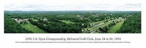 Sale alerts for Bruce Teleky 1993 Us Open-Baltusrol Golf Club Poster Print by Mark Segal (40 x 14) - Covvet