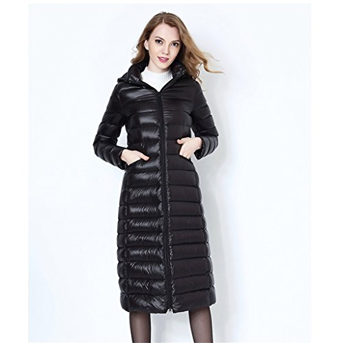 Automne-et-hiver-Saison-paississement-Hooded-Vtements-dhiver-au-dessus-de-genou-Long-Style-Slim-Down-Veste-Femmes-Manteau-Down-veste-Veste-chaude