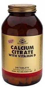 Solgar Calcium Citrate with Vitamin D - 240 from Solgar