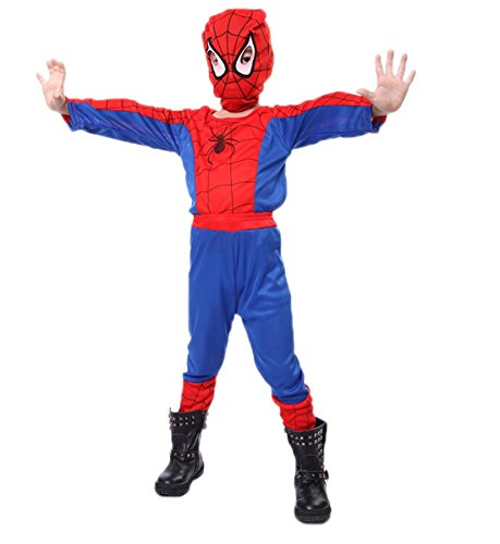 Boys Spider-man Costume 3 Piece Set