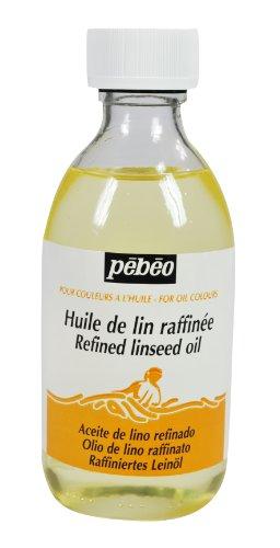 pebeo-olio-raffinato-di-semi-di-lino-245-ml-trasparente