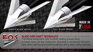 W2B - Exodus 85gr Fixed Blade Broadhead Non Barbed Full by W2B