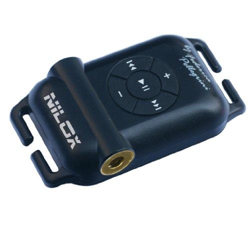 Nilox 13NXM3SU02007 Lettore mp3 Swimsonic by F. Pellegrini, 4 GB, Nero