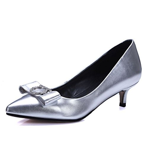 Scarpe a punta/Luce confortevole bow scarpe/ va bene con le scarpe di vernice-A Lunghezza piede=22.8CM(9Inch)
