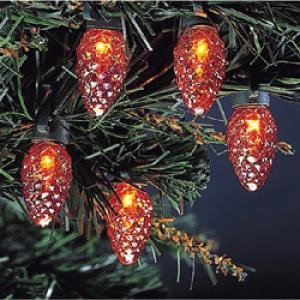 Best christmas lights for sale: Kurt Adler 35-Light Orange with ...