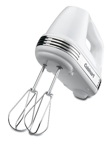 Great Deal! Cuisinart HM-50 Power Advantage 5-Speed Hand Mixer, White