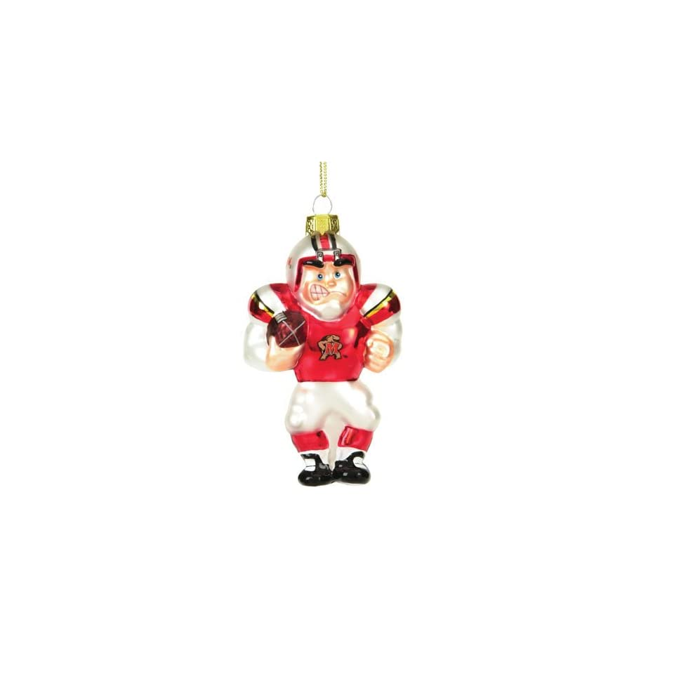 BSS   Maryland Terps NCAA Glass Player Ornament (4