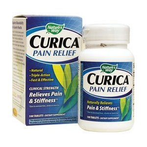 Nature's Way Curica Pain Relief -- 100 Tablets ( Multi-Pack)