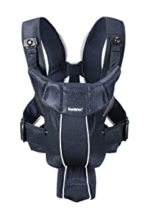 BABYBJORN Baby Carrier Active, Dark Blue, Mesh (Discontinued by Manufacturer)