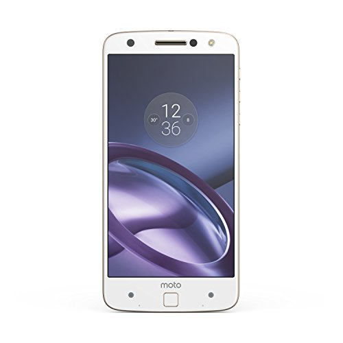 "Moto Z - Smartphone libre de 5.5"" (Bluetooth, Qualcomm Snapdragon 820, 4 GB de RAM, 32 GB, cámara de 13 MP, Android 6), blanco"