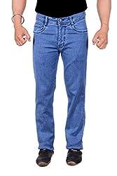 Makeover slim fit blue men's jeans