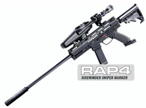 Tippmann X7 Phenom Electro Sidewinder Sniper Paintball Gun Kit