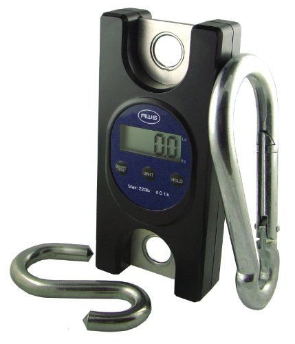 American Weigh Scale Amw-tl440 Industrial Heavy Duty Digital Hanging Scale, 440-Pound