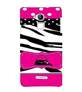 PrintVisa Animal Print Girly Design 3D Hard Polycarbonate Designer Back Case Cover for Coolpad Note 3