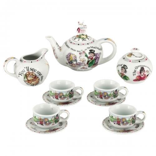 Cardew Alice In Wonderland Miniature Collector'S Tea Set