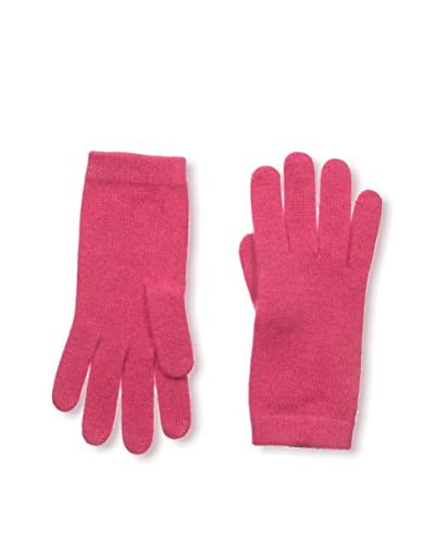 Portolano Women's Basic Cashmere Glove, Candy Pink