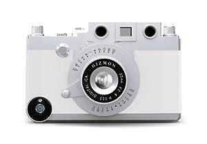 GIZMON Camera Design Case Cover For Apple iPhone 4/4S GIZMON iCA WHITE