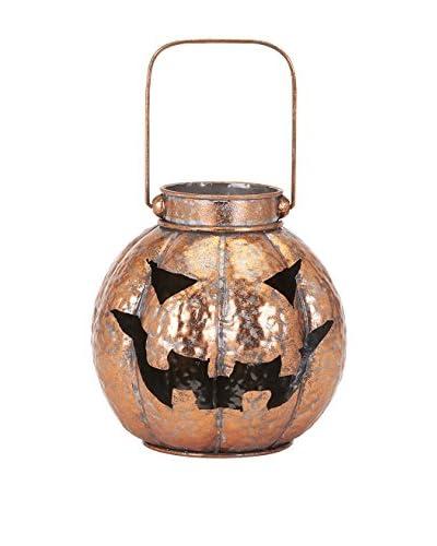 Benzara Rylan Copper Jack-O-Lantern