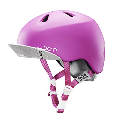 bern (バーン)ヘルメット [ NINA /Matte MagentaサイズXS-S]オールシーズンジュニア (2014/15モデル)日本正規品