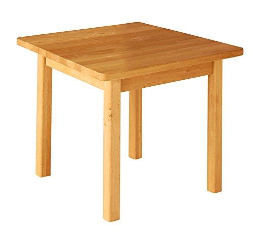 Robin tavolo quadratico per la scuola materna, altezza 53 cm