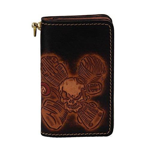 lengren-senior-handmade-short-wallet-with-grommet-carved-with-skeleton-pattern-genuine-italian-full-