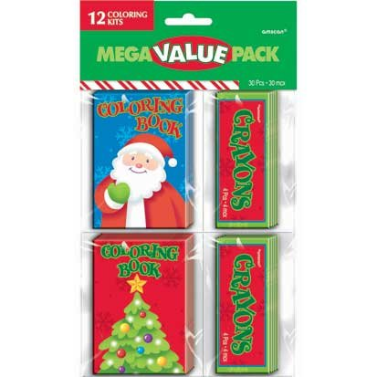 Christmas Coloring Kits 12ct