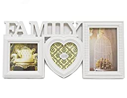 White Frame Family Collage 15.25\