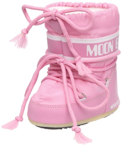 Moon Boot, Moon Boot Mini Nylon, Stivali, Unisex - Bambino, (Rosa 063), 19/22