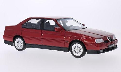 Alfa-Romeo-164-30-V6-Q4-metallic-rot-1993-Modellauto-Fertigmodell-Laudoracing-Model-118