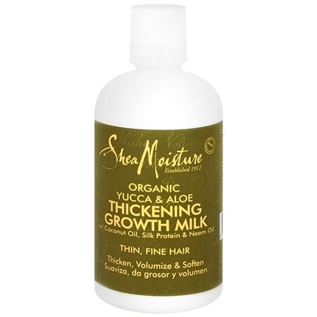 Shea Moisture Organic Yucca & Aloe Thickening Growth Milk