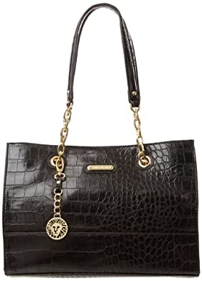 Anne Klein Coast Is Clear Small Shoulder Bag,Black,One Size