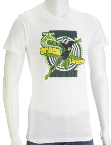 DC Comics Green Lantern First Flight Men's T-Shirt White DC016WS Small