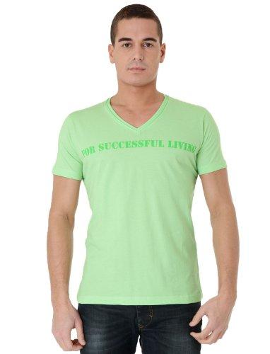 Diesel T-stary-r 59y Straight Green Man T-shirts Make Men - Xxl