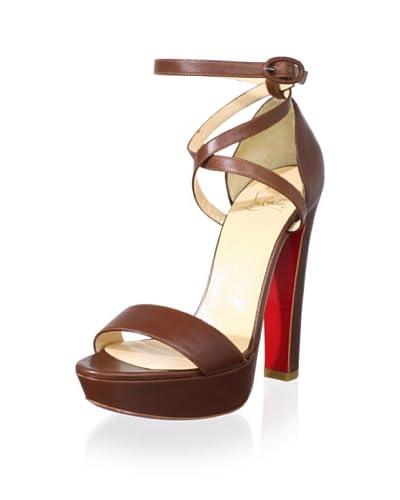 Christian Louboutin Women's Platform Sandal  - Brown