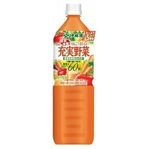 伊藤園 充実野菜 緑黄色野菜ミックス 930g×12本