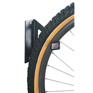 Click to buy Garage Bicycle Storage: Racor PIW-1R/PIW-1W Pro Wall-Mount Bike Hanger from Amazon!