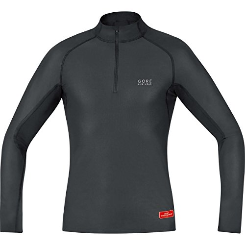 gore-bike-wear-base-layer-windstopper-maillot-cuello-de-ciclismo-para-hombre-color-negro-talla-l