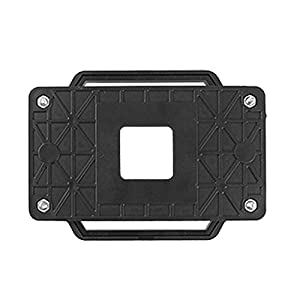 Heatsink Fan Holder Back Mount Black Plastic Bracket