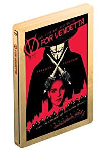 V For Vendetta (Limited Edition SteelBook) [Blu-ray] (Bilingual)