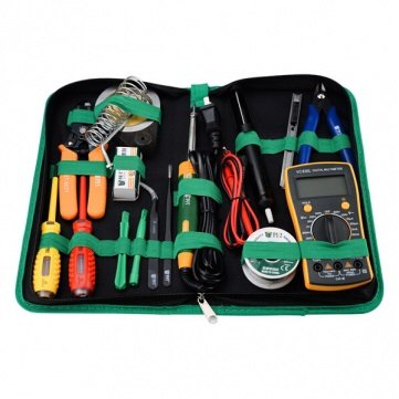 16Pcs Bst-113 Multi-Functional Tools Kit Repair Solder Multimeter