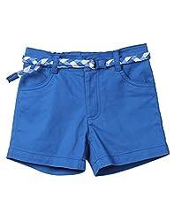 Beebay Blue Short With Belt (G1415107900211_Blue_5Y)