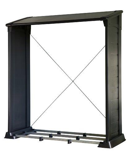 beckmann khl kaminholz lager alu natur hier g nstig. Black Bedroom Furniture Sets. Home Design Ideas