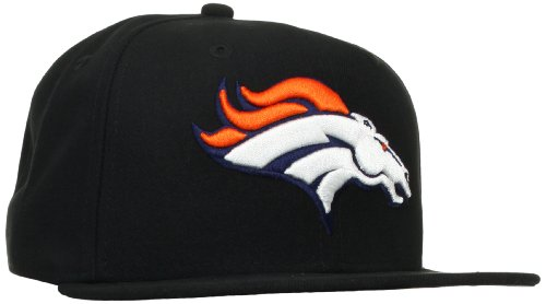 NFL Denver Broncos Black and Team Color 59Fifty