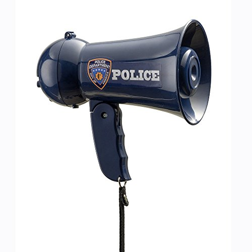 Pretend Play Kids Police Officer's Megaphone with Siren Sound. Handheld Mic Toy (Megaphone Kids compare prices)