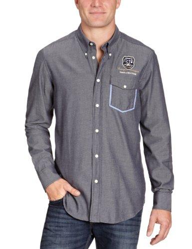 Lerros Men's 2281262 Casual Shirt Blue (Navy 491) 54