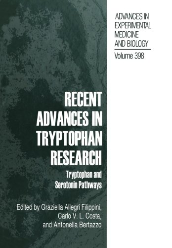 Recent Advances In Tryptophan Research: Tryptophan And Serotonin Pathways (Advances In Experimental Medicine And Biology)