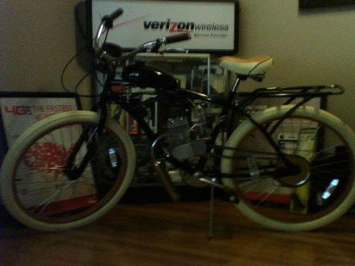 80cc bicycle beach cruiser z80 ninja style